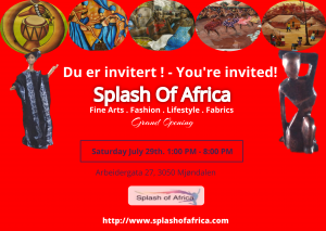 Splash of Africa invite take 2