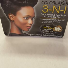 3 in 1 Color - Relaxer - Condition DIAMOND BLACK