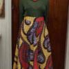 Long African dress skirt