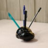 Pen holder ebony sculpture
